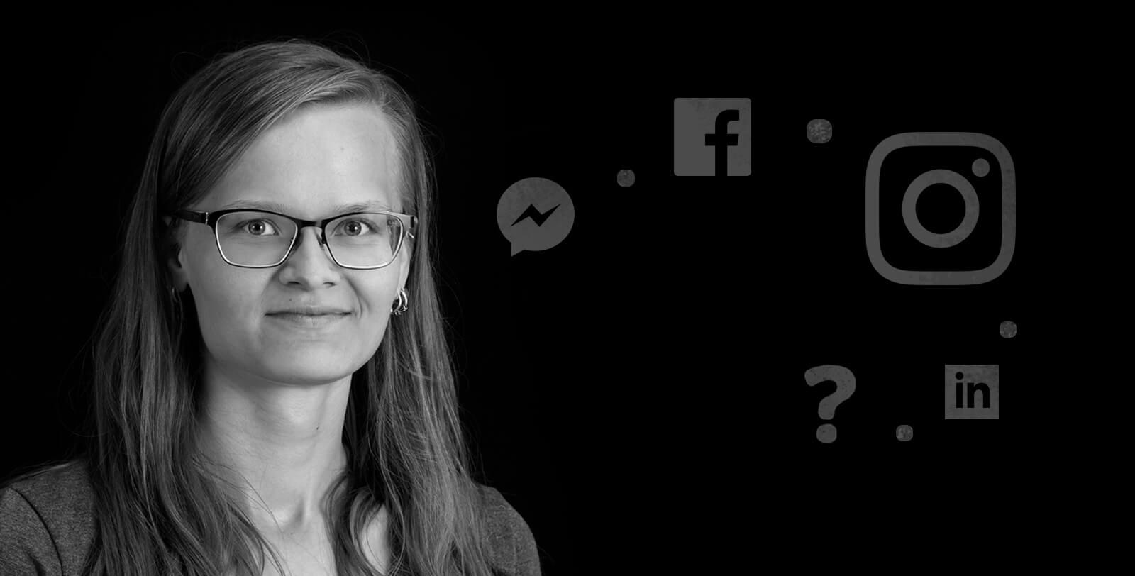 Design Inspiksen media-alan harjoittelija Laura Tiitto