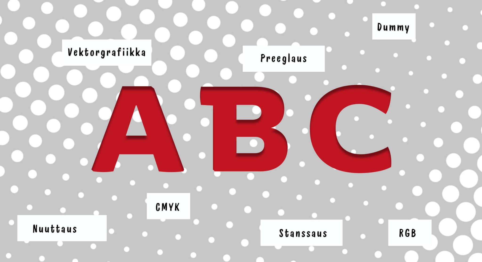 Design Inspis graafisen suunnittelun abc - montako pikseliä laitetaan, kuvituskuva