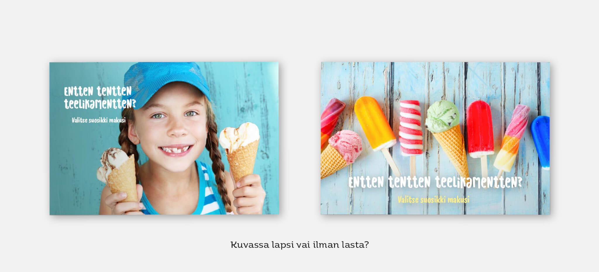 Design Inspis - mainonnan suunnittelu luovaa ideointia, esimerkkikuva